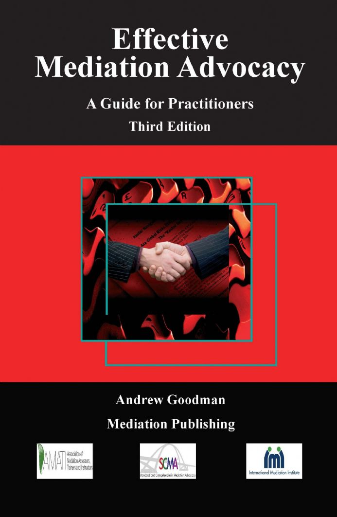 Effective Mediation Advocacy Ebook
